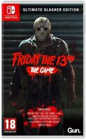 Friday the 13th The Game - Ultimate Slasher Edition For Nintendo Switch (New)