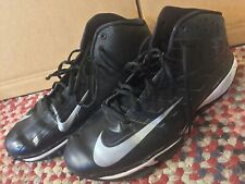 NiKE Men's ZOOM VAPOR PRO 3/4 DESTROYER Shoes Black/White 527879-001 Sz 13