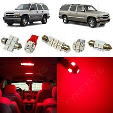 15x Red LED lights interior package kit for 2000-2006 Chevy Suburban/Tahoe CS1R