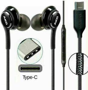 AKG USB-C TYPE C EARPHONE HEADPHONE for SAMSUNG GALAXY S20 NOTE10 Note20 Fold UK