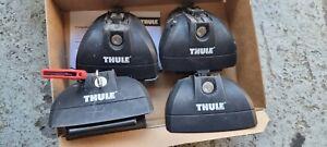 Thule 753 Rapid System Roof Rack Foot - Pack of 4