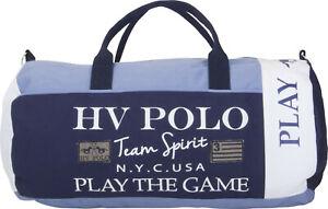 HV POLO  Sporttasche Canvas XL Craig Colourblock aus Baumwoll-Canvas