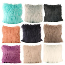 Plush Furry Cushions Cover Throw Pillow Case Home Bed Room Sofa Decor AU STOCK