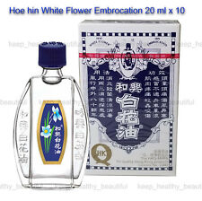 Hoe Hin White Flower Embrocation 20ml X 5 Registered Post Tracking