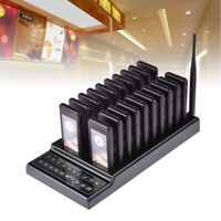 12 Server Pager Restaurant Paging System Kit By Lrs Long
