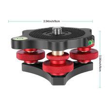 Fujing LB-62 adjustment platform base for Tripod Ball Head Camera