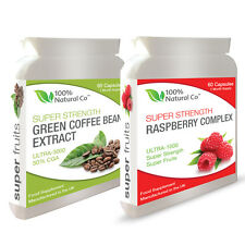 DOUBLE VALUE PACK - Raspberry Ketones and Green Coffee Bean Extract