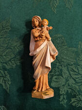 Fontanini 1985 Nativity Mother and Child, 4.5 inches high, made in Italy