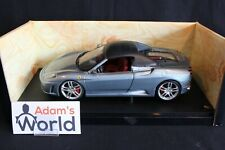 Hot Wheels transkit Ferrari F430 Spider 1:18 grey Soft top closed (PJBB)