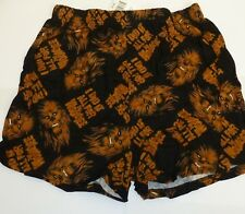 NEW Star Wars Chewbacca Chewy Mens Boxer Briefs 100% Cotton S Small 28 30
