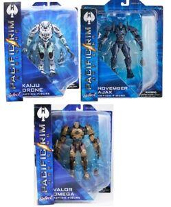 November Ajax, Valor Omega & Kaiju-infected Jaeger Drone  Action Figures 2b