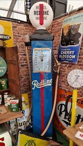 Vintage Bowser Electric Redline Petrol Pump Garage Automobilia Motoring