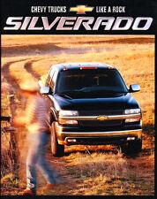 2002 CHEVY SILVERADO PICKUP TRUCK BROCHURE-SILVERADO 1500-2500-2500HD-3500HD-4X4