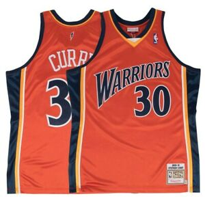 2009-10 Stephen Curry NBA Golden State Warriors Mitchell & Ness Authentic Jersey