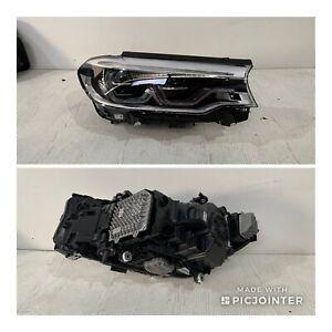 Genuine BMW 5 Series G30 520 535 550 M5 Led Adaptive Headlight Right Side
