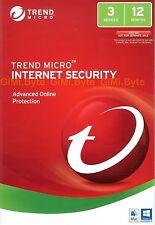 Trend Micro 10 3 Users Standard Windows / Mac Antivirus