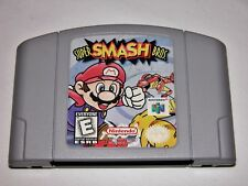 Super Smash Bros. for Nintendo 64 N64 Mario Zelda Kirby *TESTED* *CLEANED*
