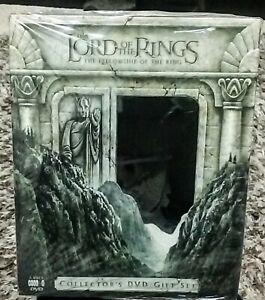 Lord of the Rings Fellowship Of The Ring Collector's Gift Set RARE sealed NEW