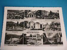 Alte Ansichtskarte 219, Bad Kissingen, Mehrbildkarte, 1955