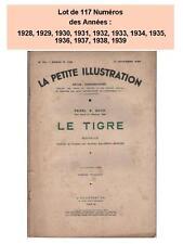 Lot 117 Nos La Petite Illustration 1930 1931 1932 1933 1934 1935 1936 1937 1938