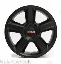 """4 NEW GMC Sierra Yukon Denali Matte Black 20"""" Wheels Rims 5308 Free Shipping"""