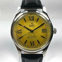 Vintage Camy Mechanical Hand Winding Movement Mens Analog Wrist Watch C28