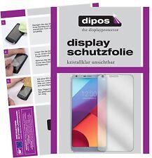 2x LG G6 Protector de Pantalla protectores transparente dipos