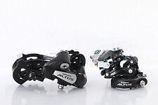 SHIMANO Altus Bike Front Derailleur FD-M310 & Rear Derailleur RD-M310 7/8S Black
