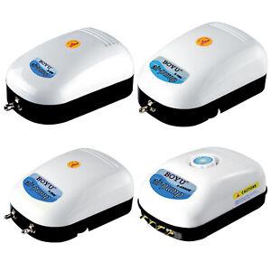 Adjustable BOYU Adjustable Air Pump Aquarium Hydroponics Fish Tank Pond Quiet