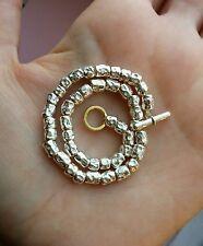 Dodo Pomellato bracciale granelli classici 17 cm + chiusura, originale e nuovo