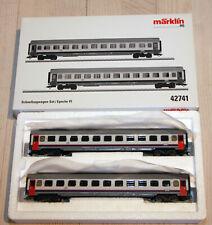 Märklin H0 42741 Schnellzugwagen-Set, Eurofima-Wagen I6, SNCB, Ep.VI, neu&OVP
