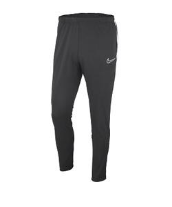 Nike Academy 19 Herren Trainingshose Dri Fit Sport Hose Knit Pant AJ9181 grau