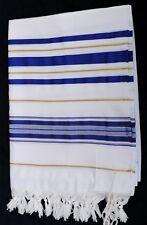 """Jewish Tallit Prayer Shawl Kosher Tallis w/Tzitzit Sz 35x75"""" Men Women Kids #36"""