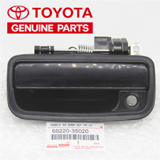 Black Front Left Driver Side Exterior Door Handle For 95-04 Toyota Tacoma