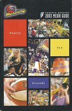 2003 Phoenix Mercury WNBA Women's Basketball Media Guide #FWIL