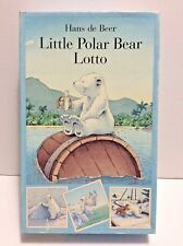 North South Books Hans de Beer Little Polar Bear Lotto Game Complete