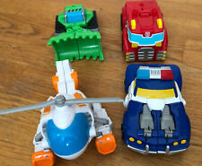 Transformers Rescue Bots 4-Pack Heatwave Boulder Blades And Chase