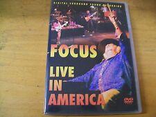 FOCUS LIVE IN AMERICA  DVD