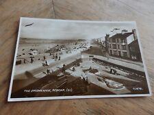 RP Postcard The Promenade, Redcar   (H77)