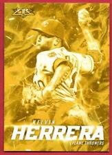 Kelvin Herrera Gold Minted Flame Throwers 2017 Topps Fire FT-11 Mint Target