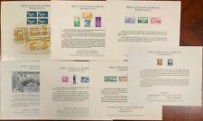 United States BEP B 9-15 Souvenir Cards 1971 Mint