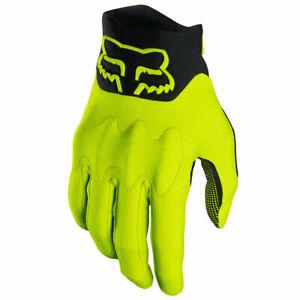 Fox Racing Defend D30 Glove Flo Yellow