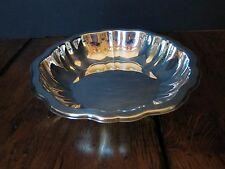 Vintage Oneida Silverplate Scalloped Rim Bowl