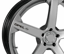 6 X Pegatinas para ruedas encaja OPEL Astra Corsa Insignia Vectra OPC Emblema Logo B