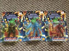 Marvel Spider-Man Web Shield Carnage Iceman 1994 Toy Biz 🕷
