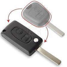 Coque clé plip Télécommande Boitier Kit Transformation CITROEN C3*C2*C1 phase 1