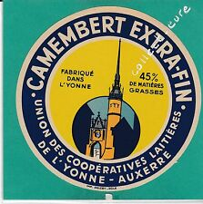 I933 FROMAGE CAMEMBERT AUXERRE YONNE