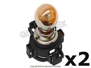 BMW E70 E92 E93 (2007+) Turn Signal Light Bulb w/ Base 12V-24W (PSY24WSV) Silver