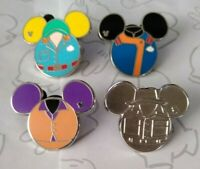 Cast Member Costumes Mouse Icon 2015 Hidden Mickey Set Choose a Disney Pin
