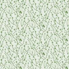 Miniatura Per Casa Delle Bambole Verde Pallido Stilizzato Rami Carta Da Parati